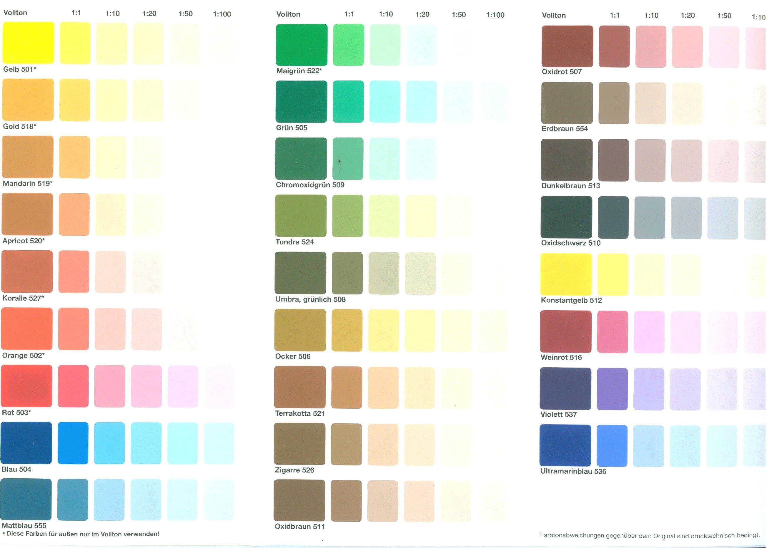 Ahnliches Foto Farben Mischen Tabelle Farben