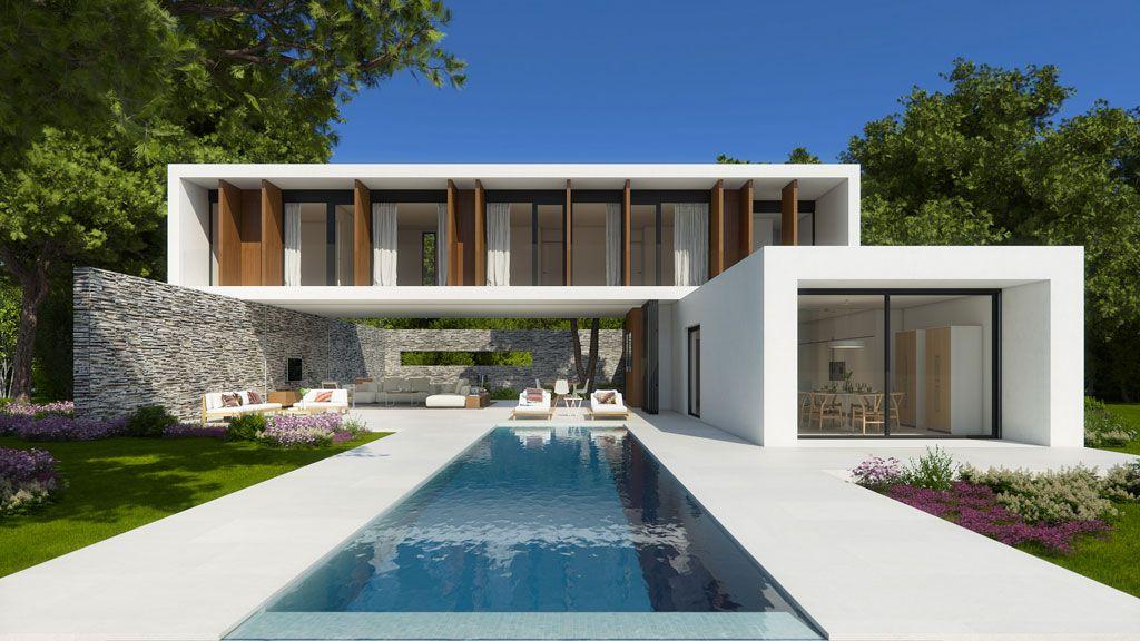 villa wow de 08023 arquitectos una casa sin l mites con On brisa vista exterior diseno