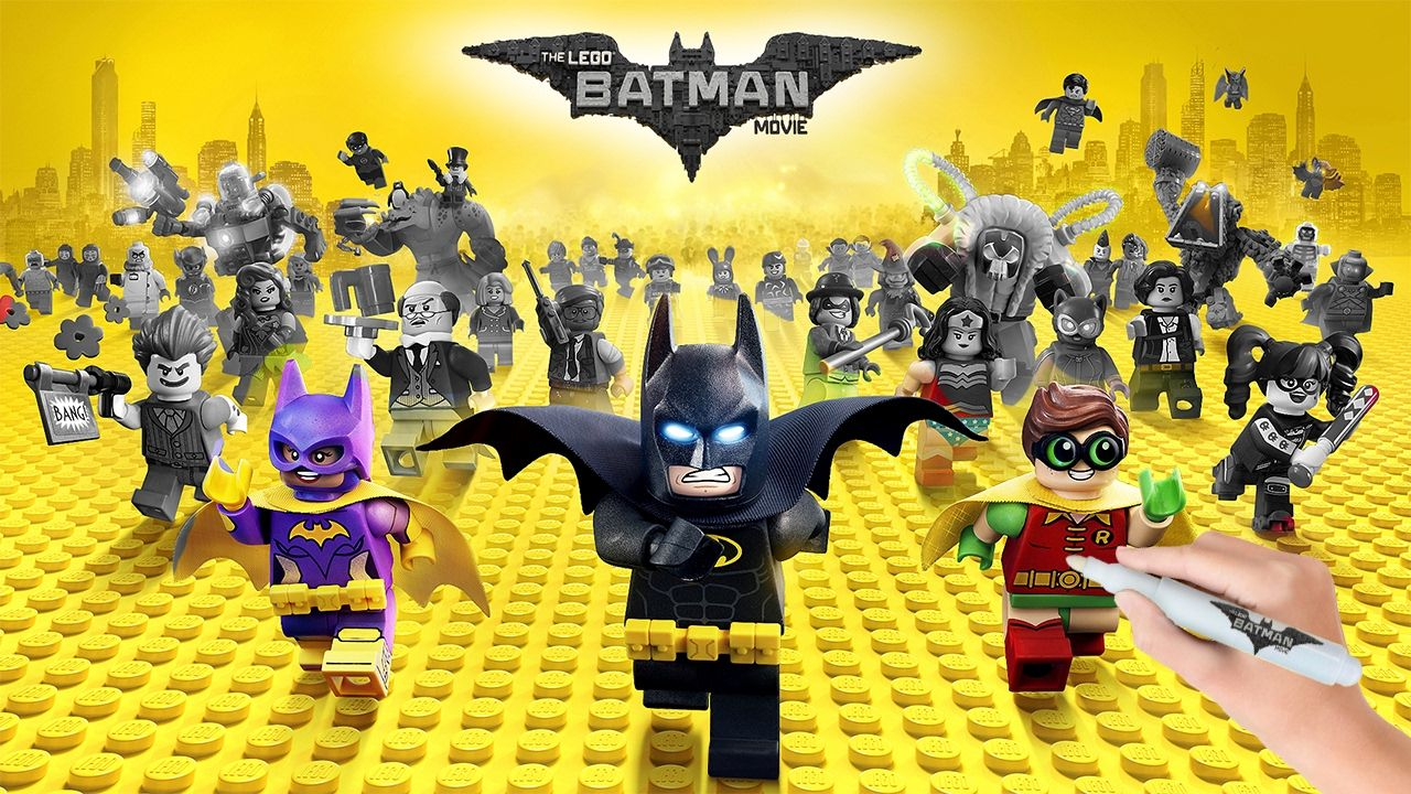 The LEGO Batman Movie All Characters Coloring Book Pages Video for Kids | Lego  batman movie, Lego batman, Batman movie