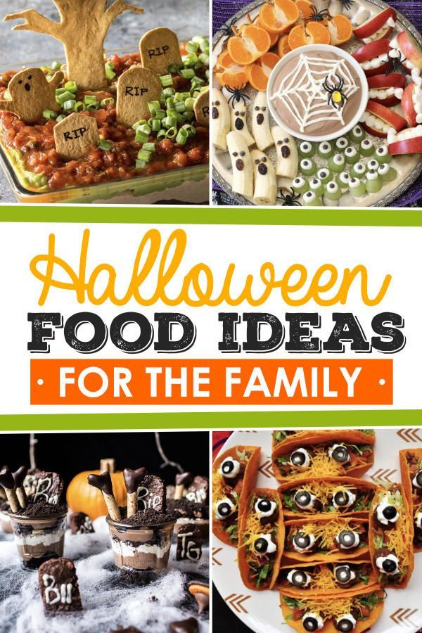 Fun Halloween Food Ideas for Every Meal - From The Dating Divas