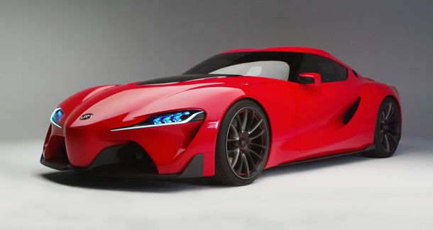 Nice The Toyota FT 1 Concept Could Be The New 2015 Toyota Supra. Coming From  Calty Design, The New Toyota U201cFuture Concept 1u2033 Could Revive The Brand In  The Super ...