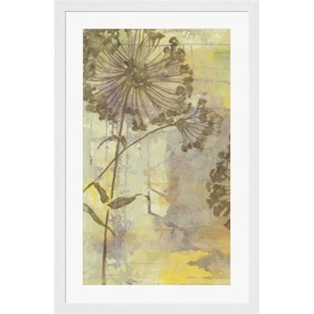 Evive Designs Dandelion Dance I by Jennifer Goldberger Framed Painting Print