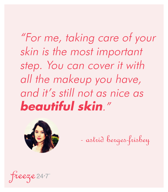 """Beauty Skin Care Quotes: """"You Can Cover It With All The Makeup You Have, And It's"""
