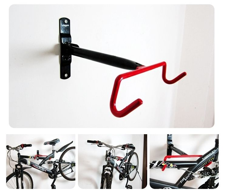 fahrrad kompaktes design garage wand fahrradkeller rack kleiderb gel haken designer massivem. Black Bedroom Furniture Sets. Home Design Ideas