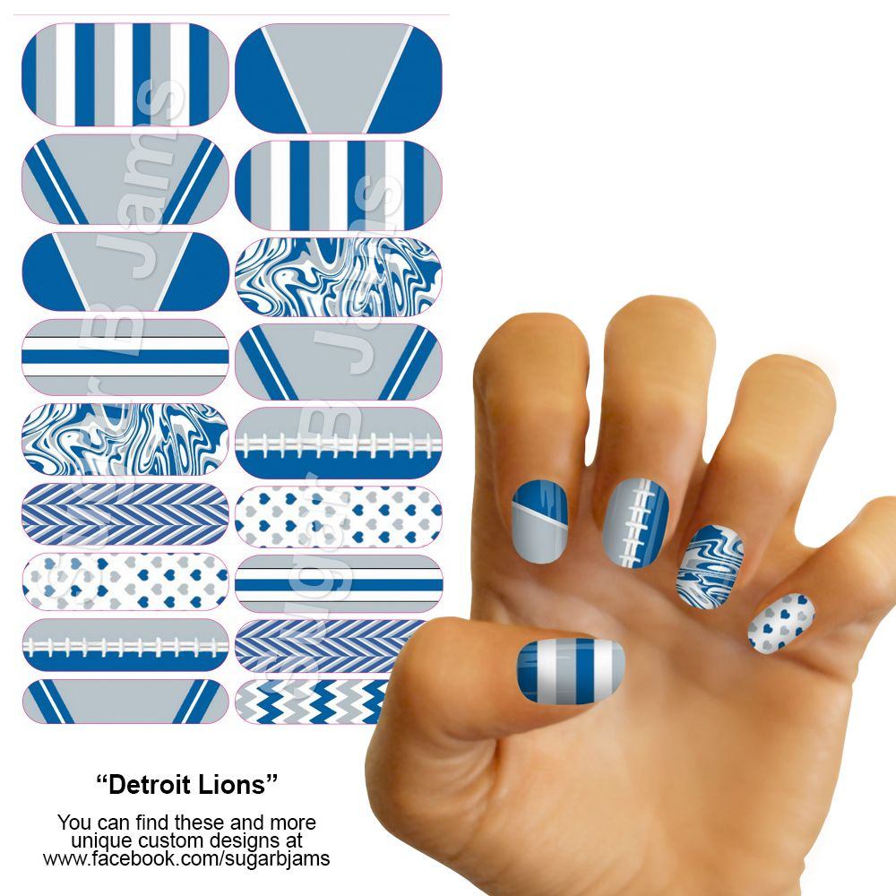 Blue Lions & Stripes / Alpha Delta Pi I designed this wrap and it is ...