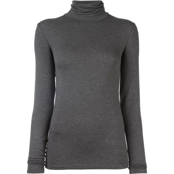 Majestic Filatures turtleneck longsleeved blouse