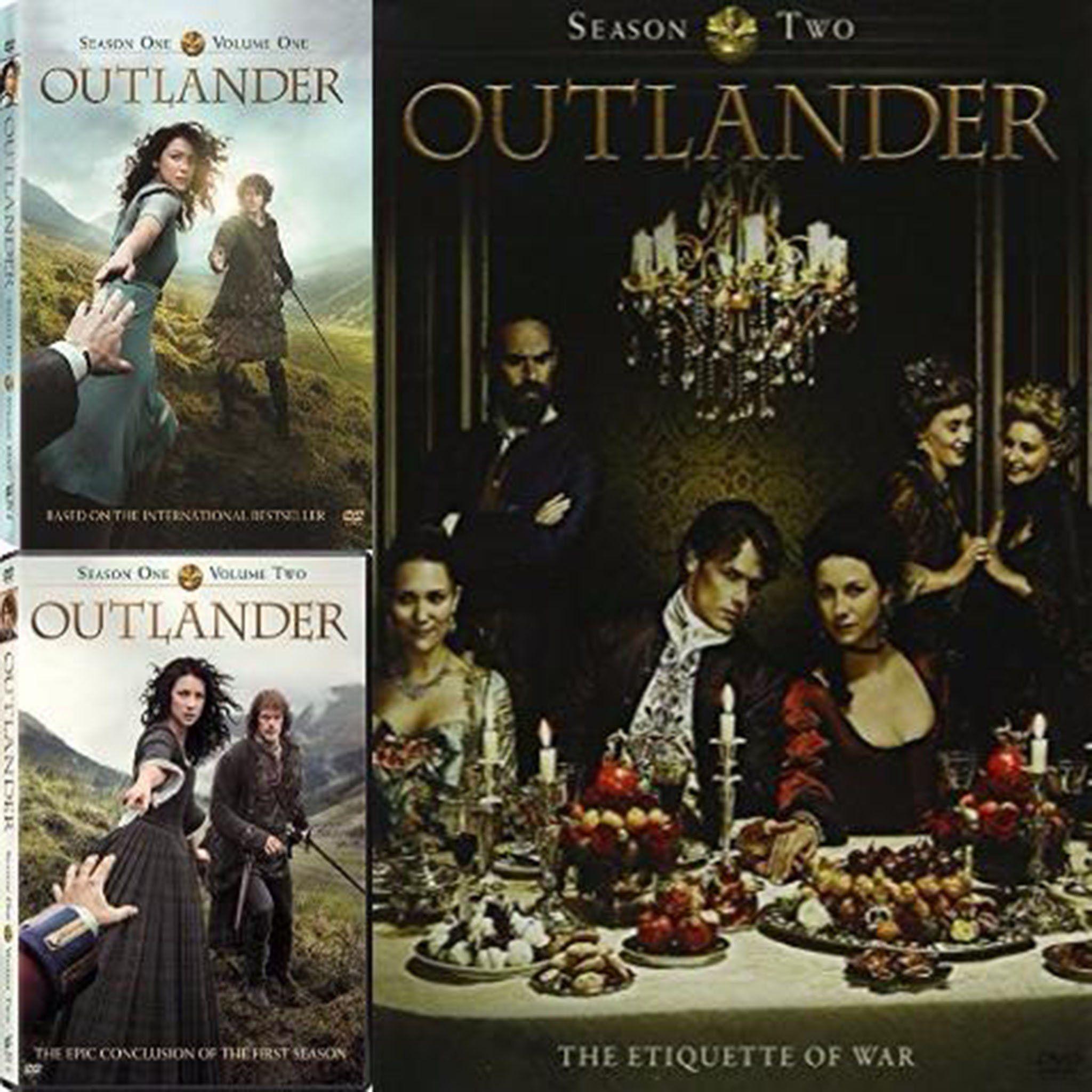 Outlander Dvd Series Season 1 4 Set Outlander Outlander Season 1 Outlander Series