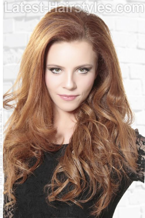 Copper Blonde Hair color: All over red-blonde hue | hair ...