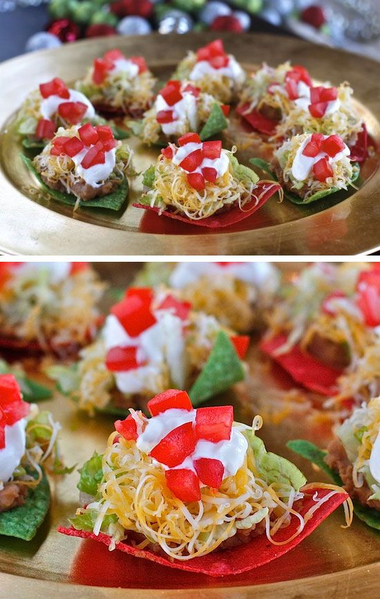 easy christmas party finger food ideas