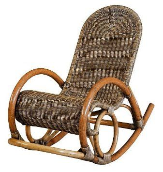 rattan im trend mecedora de mimbre color marr n 204 mecedoras pinterest mecedora. Black Bedroom Furniture Sets. Home Design Ideas
