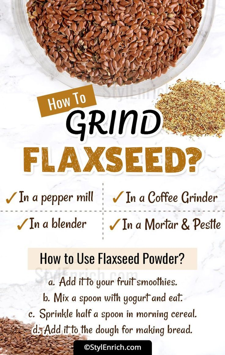 Howtogrindflaxseed lets see step by step instructions