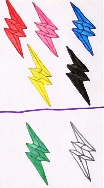 Power Rangers Lightning Bolt