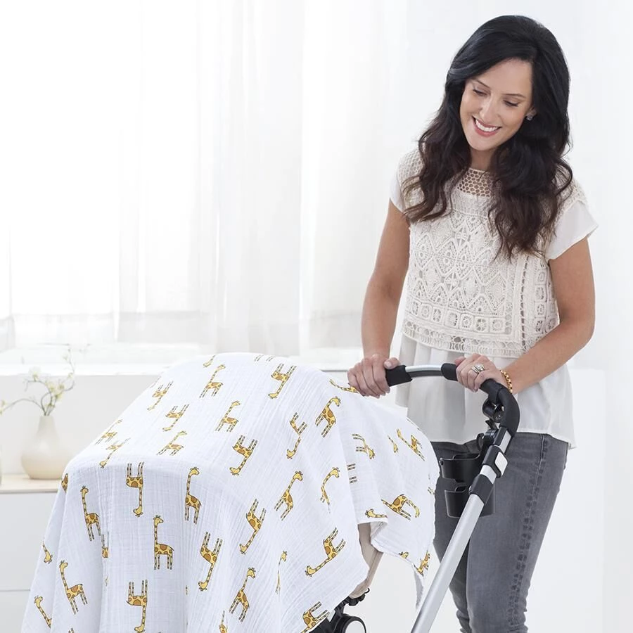 Baby Swaddle And Play Mat 100 Organic Cotton Baby Swaddle Muslin Baby Blankets Muslin Swaddling