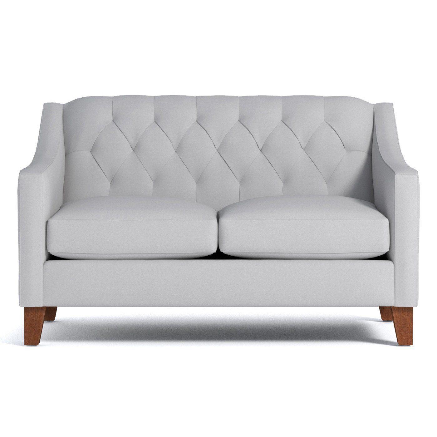 Jackson Apartment Size Sofa Leg Finish Pecan Size Apartment