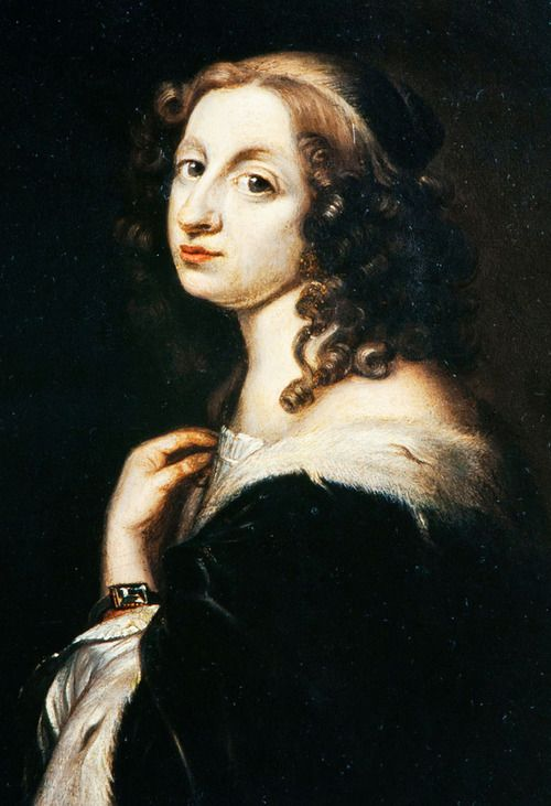 David Beck Christina Queen Of Sweden 1650 Kungligheter Drottning