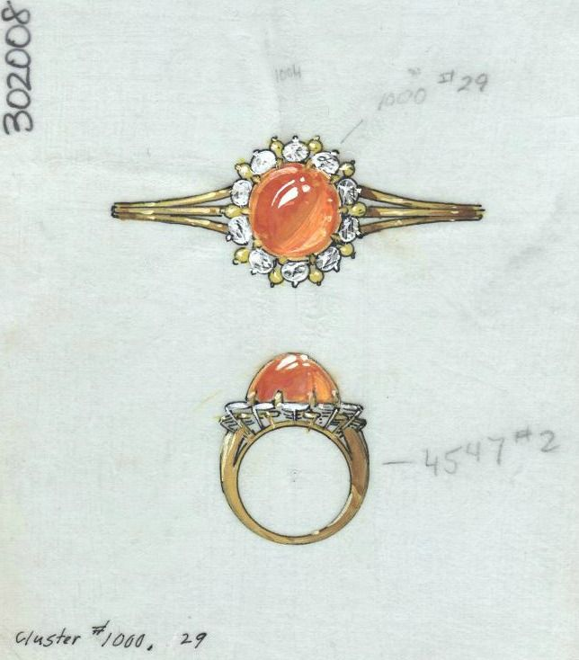Pin By Thi Mai On Art Ii Vocab Jewellery Design Sketches Jewelry Drawing Jewelry Rendering