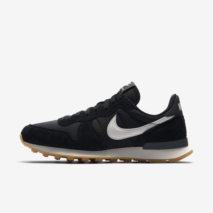 Internationalist Women S Shoe Nike Internationalist Black Leather Shoes Nike