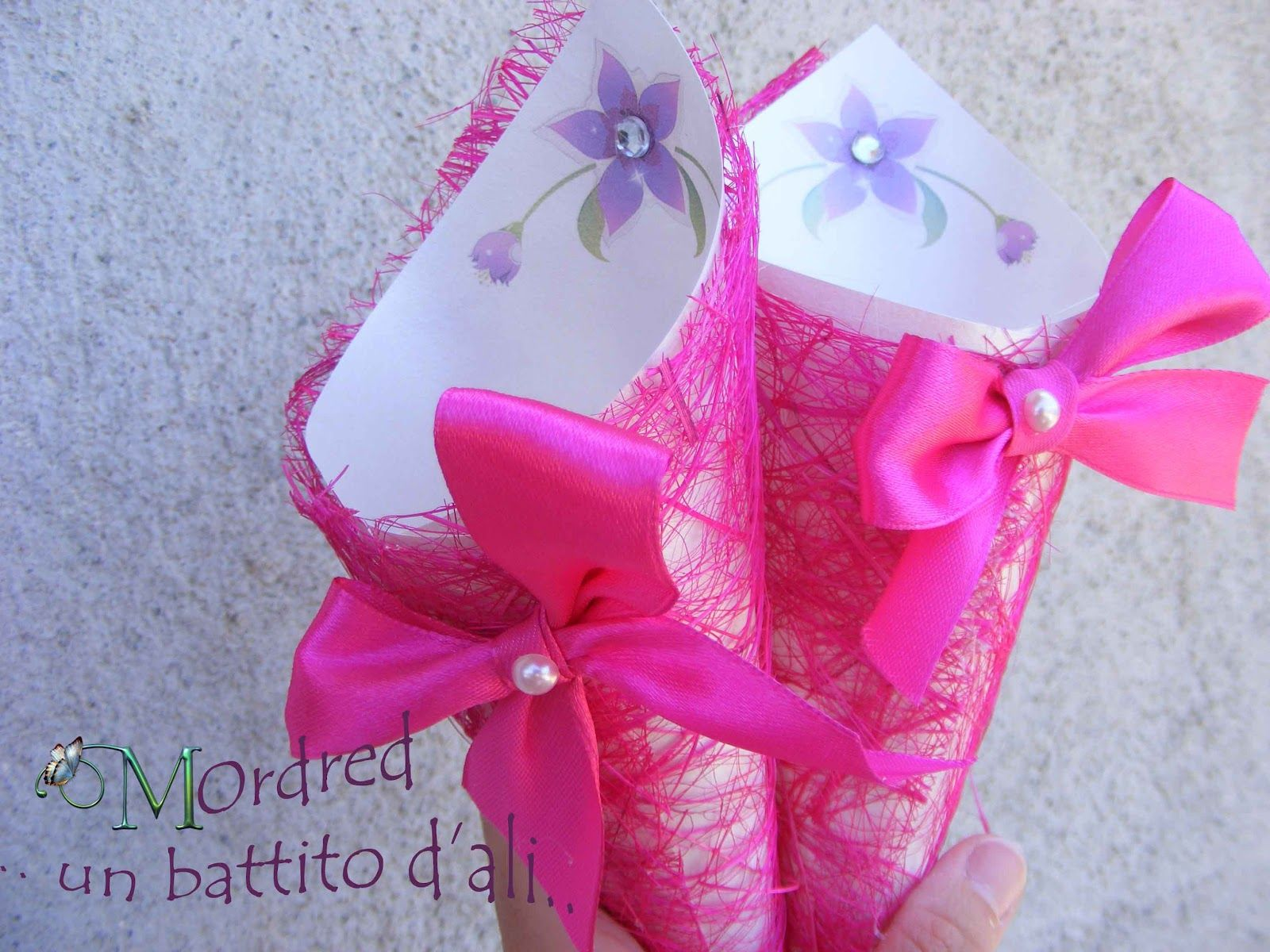 Coni portariso fuxia   Paper Crafts   Pinterest   Wedding and Weddings