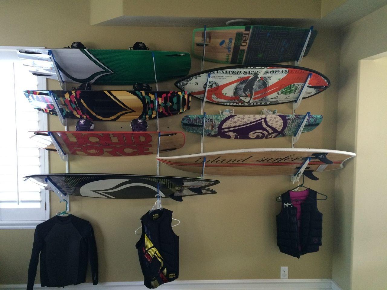 Wakeboard Storage Rack Wakeboarding Wakeboard Storage Wakesurfing