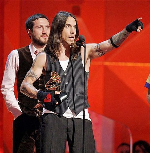 Red Hot Chili Peppers -winning