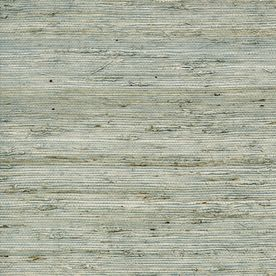 allen roth Nickel Grasscloth Unpasted Textured Wallpaper