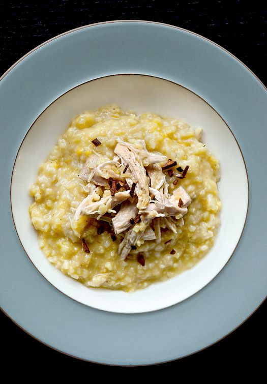 Arroz Caldo - Filpino Chicken Porridge. Classic hearty and savory Filipino comfort food that only takes 10 minutes to prep. The whole family will love it! Easy recipe, congee. | pickledplum.com