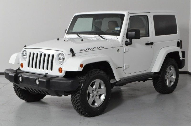 Jeep Wrangler Rubicon White 2 Door Two Door Jeep Wrangler Jeep Wrangler Rubicon Jeep Wrangler