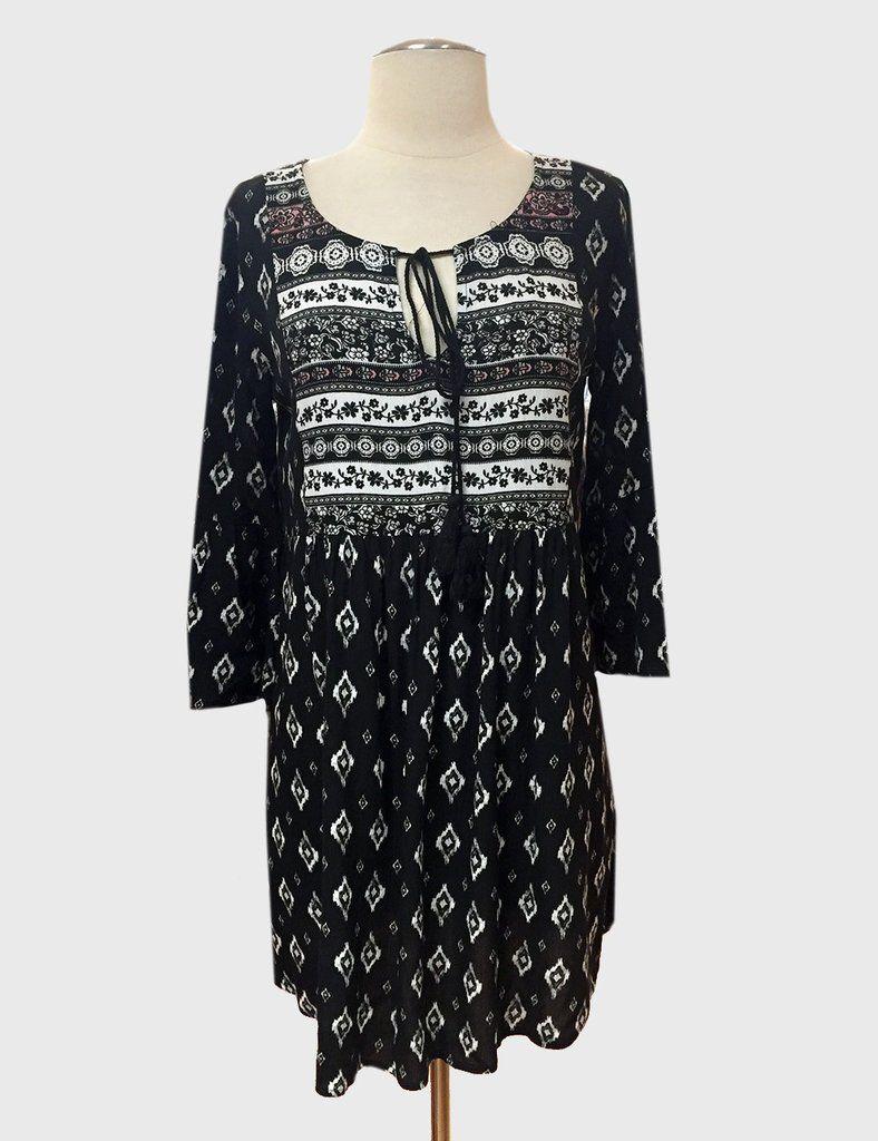 L love ikat diamond dresstunic black online store pinterest