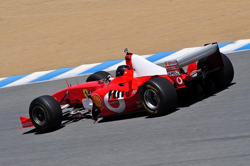 2003 Ferrari F1 car F2003GA #FerrariF1 #F1 #Ferrari #LagunaSeca