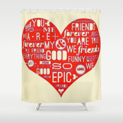 LUV art by healinglove Shower Curtain by Healinglove art products - $68.00