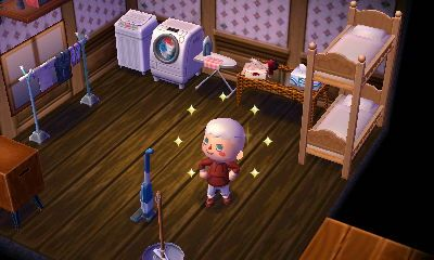 zappercrossing: Updated laundry room/where guests sleep :D ... on Animal Crossing Living Room Ideas  id=18821