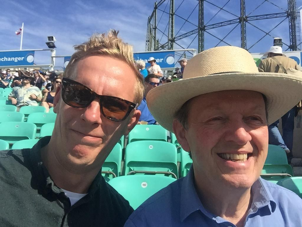 Laurence Fox on Laurence fox, Kevin whately, Inspector lewis