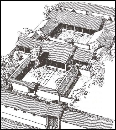 All Things Chinese Classicchina Chinese Courtyard China Architecture Courtyard House