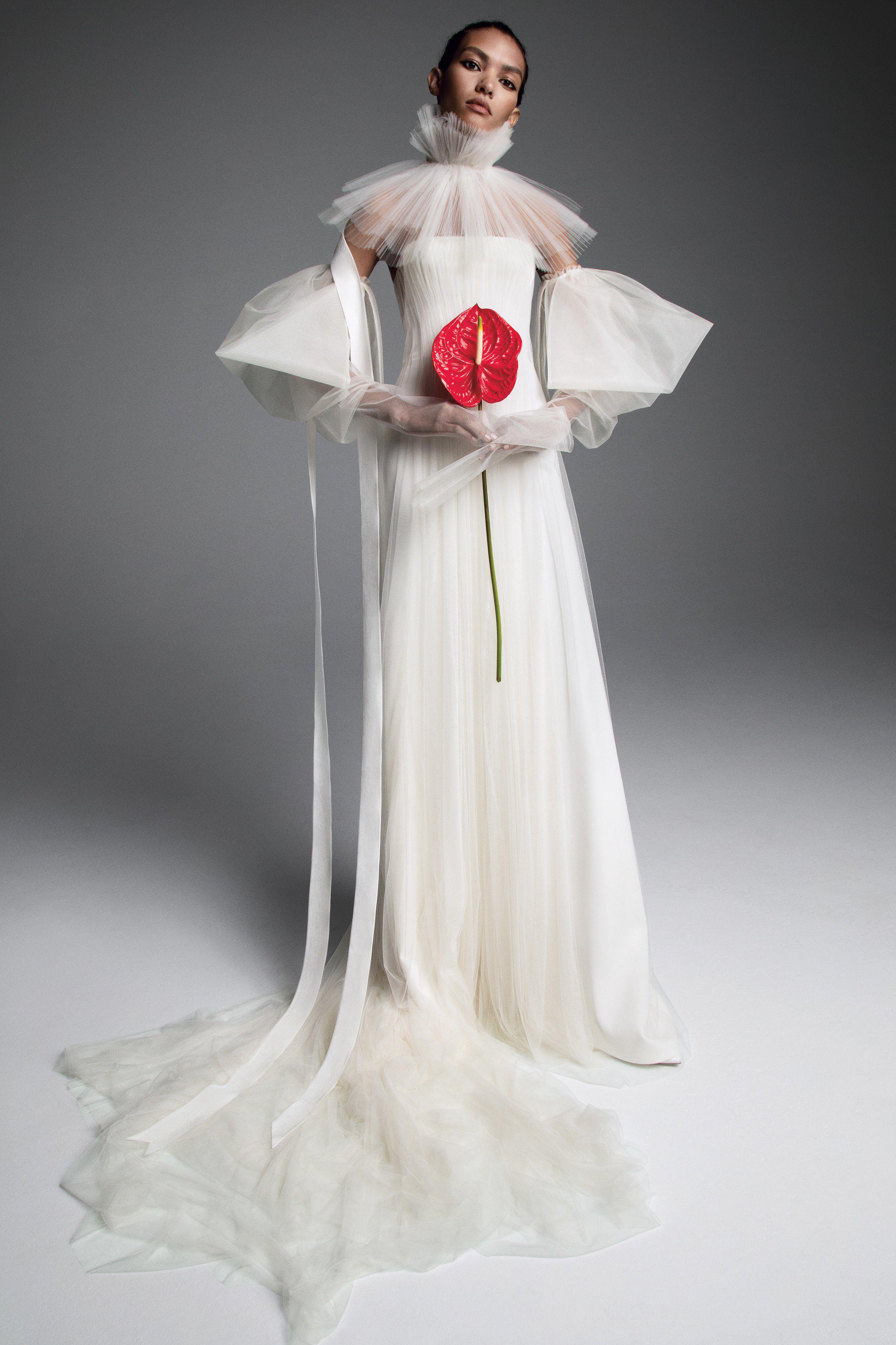 45295f33281 Vera Wang Fall 2019 Bridal Fashion Show Collection  See the complete Vera  Wang Fall 2019 Bridal collection. Look 15