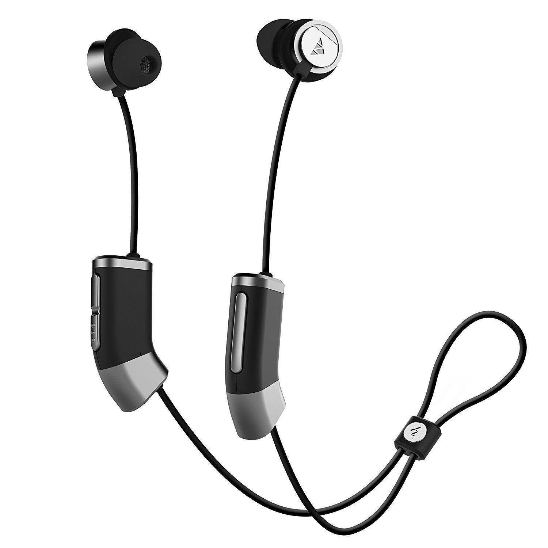 Zipbuds 26 Wireless Sport In-Ear Headphones  Custom Fit HD Stereo Sound  Waterproof Sweatproof 15-Hour Supercharged Battery Custom Fit Bluetooth  Earbuds ... 022f8fe313