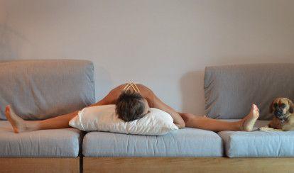 6 relaxing yoga poses to help you fall asleep  relaxing