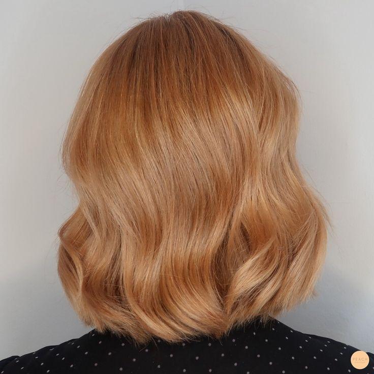Photo of Color de cabello cobre melocotón