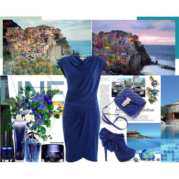 Love Blue, created by shaneeeee on Polyvore