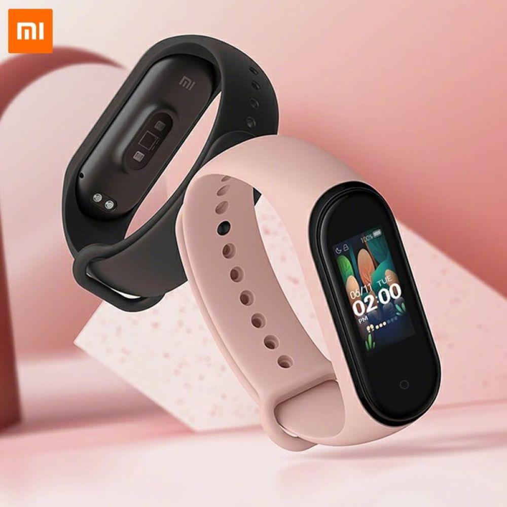 Xiaomi Mi Band 4 Waterproof Smart Fitness Tracker Em 2020 Pulseiras Inteligentes Smartwatch Relogio Inteligente