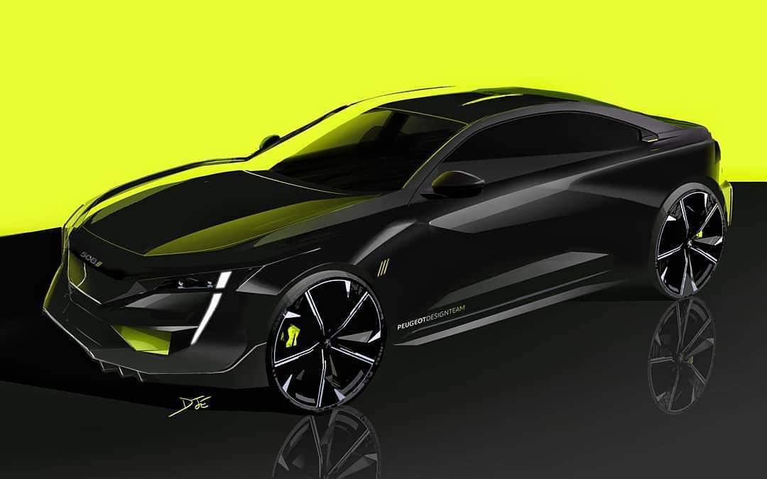 Car Design World On Instagram 508 Peugeot Sport Engineered Official Sketches By Jérôme Dumaine Via Gillesvidal Official Car Design Peugeot Car Inspiration