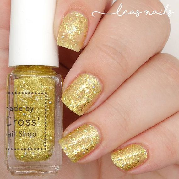 Gold Medal 5ml handmade in the UK Indie Nail by MrsCrossNailShop ...