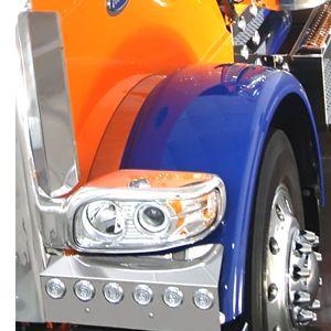 Stainless Steel Inner Fender Trim Fits Peterbilt 388 /& 389