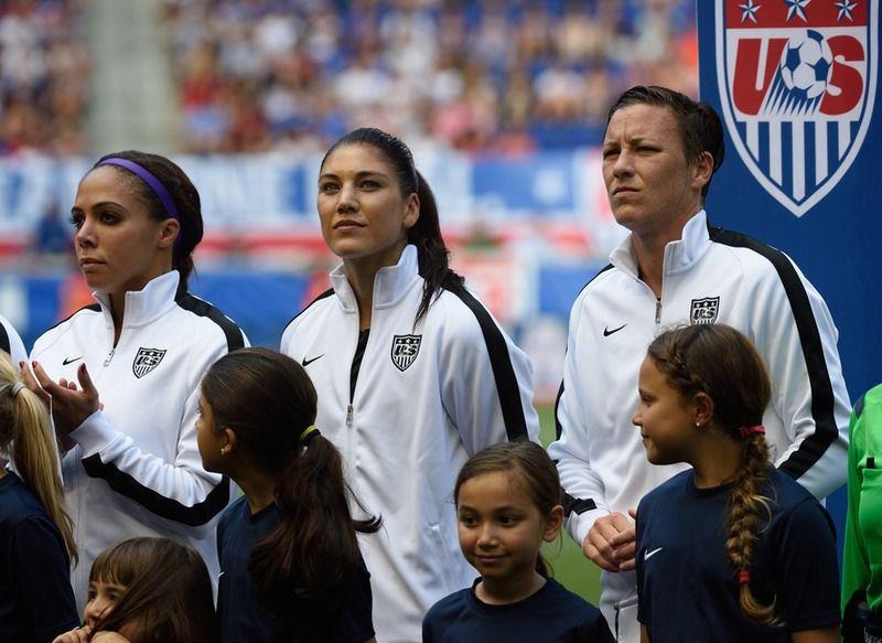 Women's World Cup Stars Deserve Better Pay Female soccer