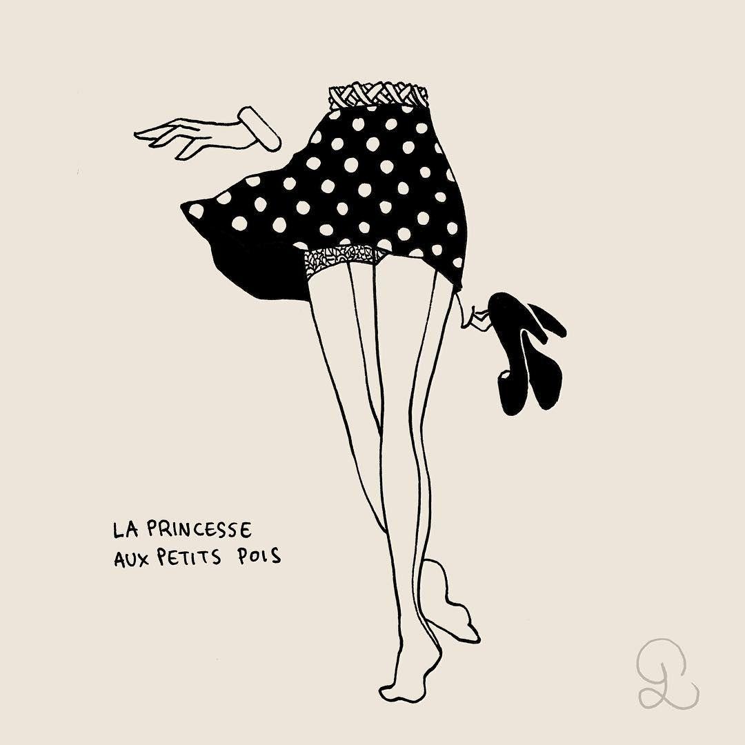 """Mi piace"": 4,851, commenti: 14 - ❤️ Petites Luxures ❤️ (@petitesluxures) su Instagram: ""Barefoot Polka #eroticdrawing #eroticart #erotic #petitesluxures"""