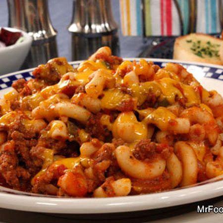 All American Skillet Goulash Recipe Recipe Easy Goulash Recipes Vegetarian Goulash Goulash Recipes