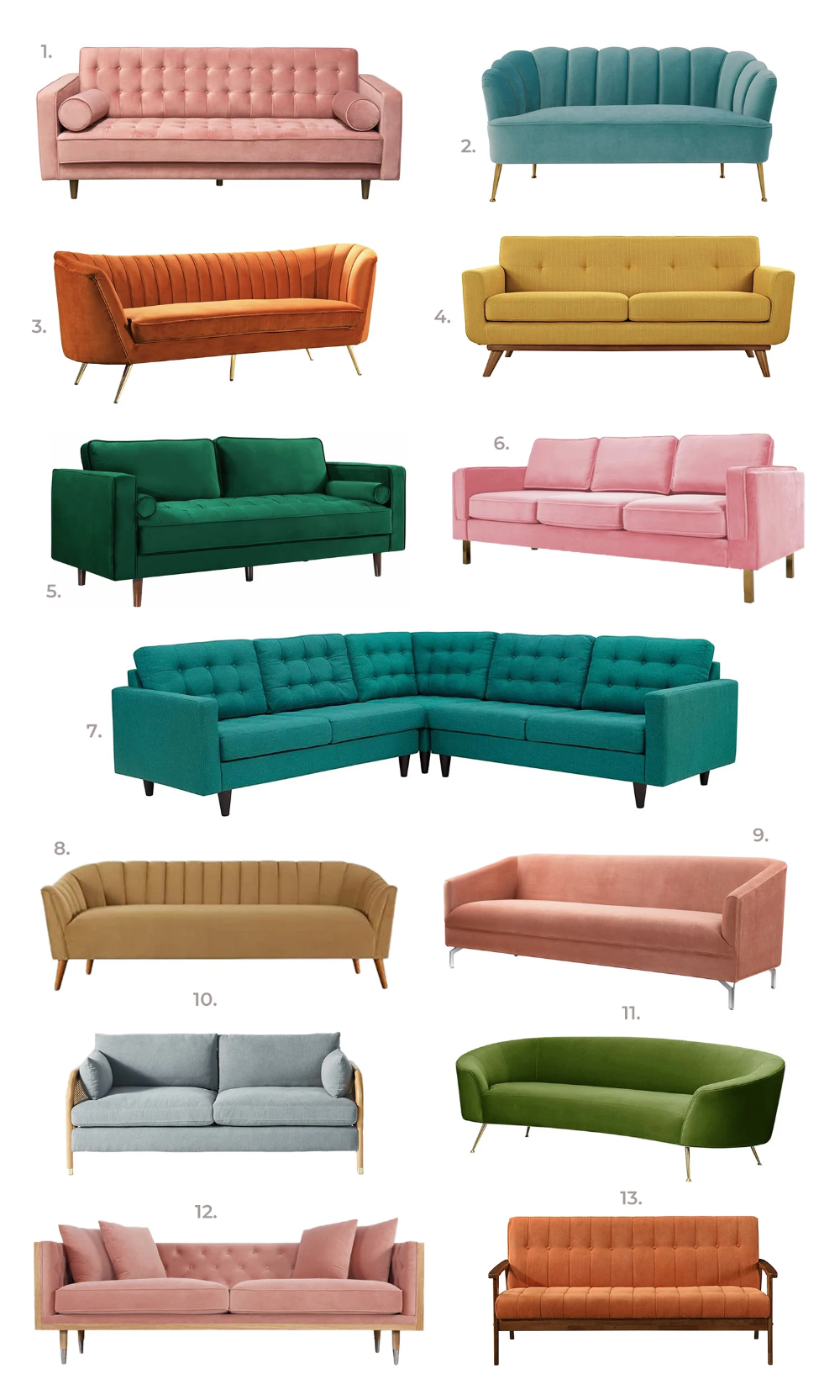 Elsie's Statement Sofa Guide - A Beautiful Mess