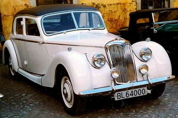 1953 Riley Rmf Saloon 1950s Vintage Cars With Images