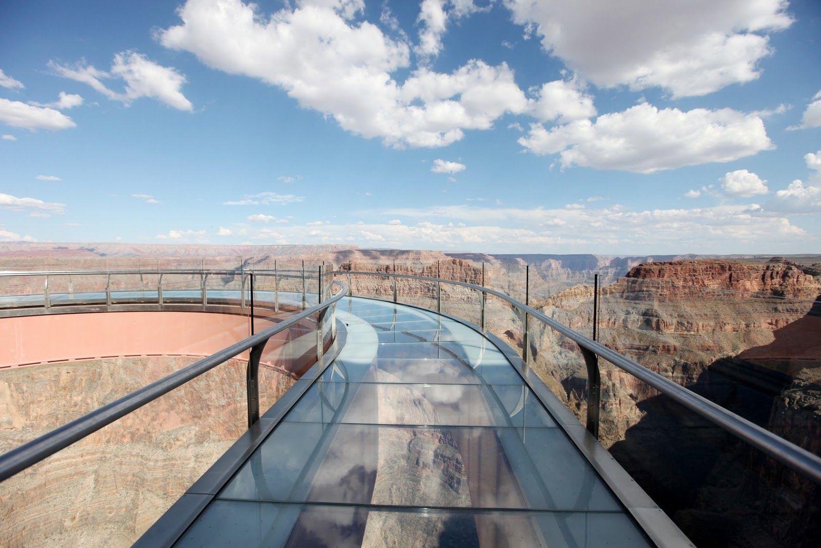 Grand Canyon Skywalk Southwest Vacation Grand Canyon Glass