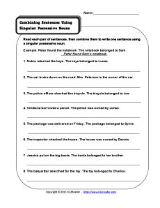 Worksheet Singular Possessive Nouns Worksheet 1000 images about reading on pinterest graphic organizers common cores and figurative language
