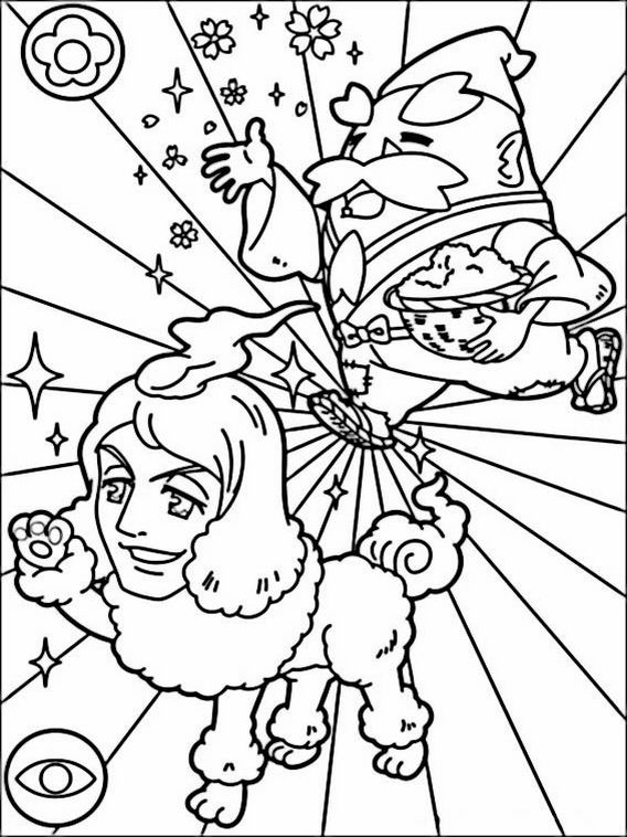 Yokai Watch Coloring Pages 12